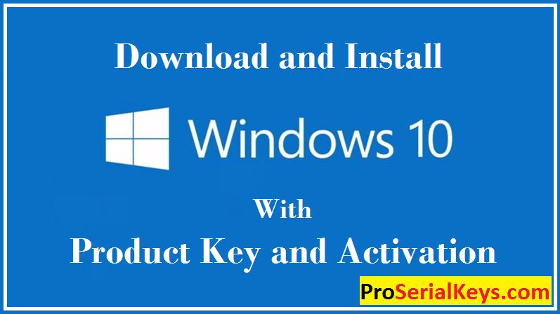 Windows 10 Product Keys