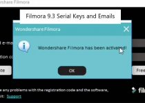 Wondershare Filmora 9 Registration Code Free 2020