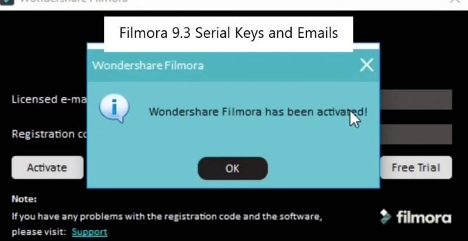 Wondershare Filmora 8.7.6.2 license key Archives
