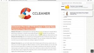 CCleaner 5.66.7716 Pro Serial Key