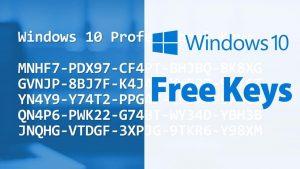 Windows 10 All Product Key