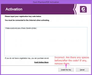 foxit Phantompdf activation key 10.0.0.35798