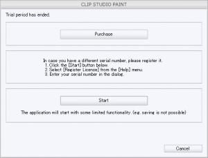Clip Studio Paint Keygen 1.9.11 Serial Key Validation 2020