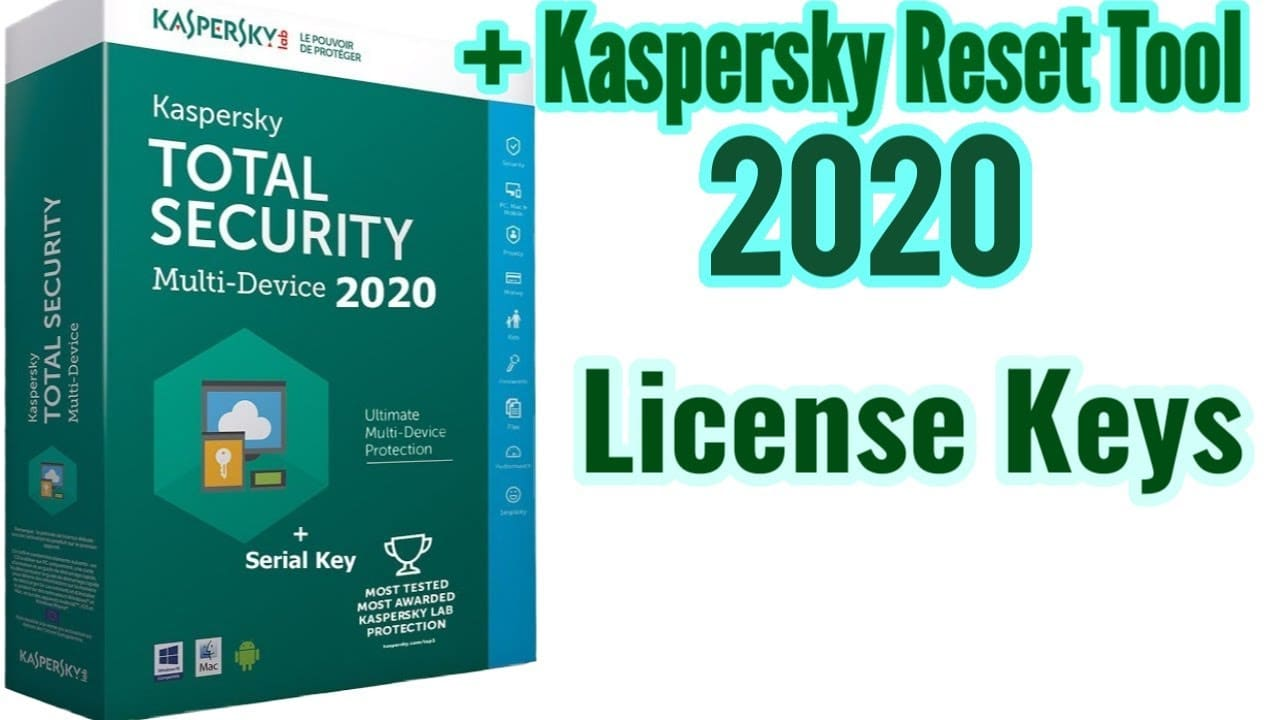Kaspersky Internet Security July 2020 Free License Key ...