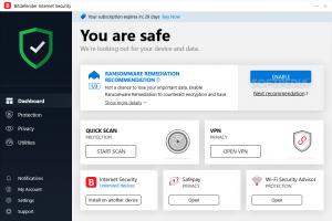 bitdefender total security 2020 crack + activation code lifetime