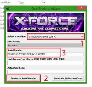 CorelDraw X7 Serial Number Full Version