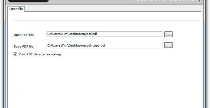 PDF Password Cracker
