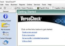 versacheck serial number