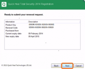 Quick Heal Total Security Serial Key