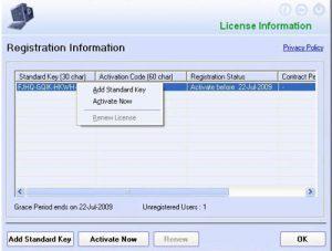 EScan Activation Key