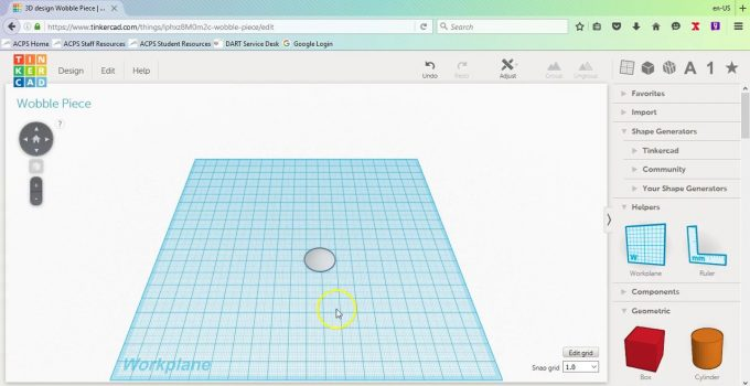 Tinkercad software free Download