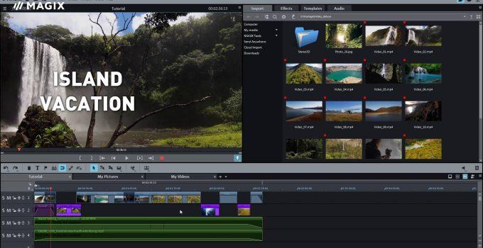 MAGIX Movie Edit Pro crack key